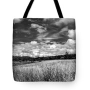 God's Country In Monochrome Tote Bag
