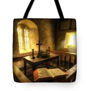 God's Holy Light Tote Bag