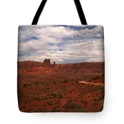 Gods In The Distance Tote Bag