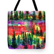 God's Kaleidoscope Tote Bag
