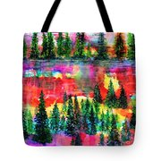 God's Kaleidoscope Tote Bag