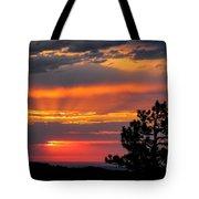 God's Spotlight Over Keystone Tote Bag