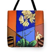 Gods Yellow Orchids Tote Bag