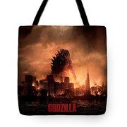 Godzilla 2014 Tote Bag