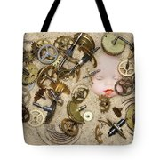 Gof Of Time Tote Bag