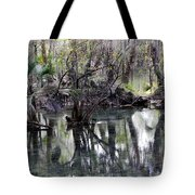 Going Back In Time Tote Bag