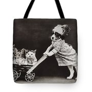 Going For A Stroll Tote Bag by Aged Pixel