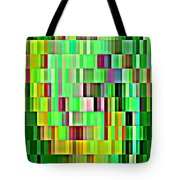 Going Green Geometric Abstractions Colorful Creations Designer Phone Cases 123 Carole Spandau Tote Bag