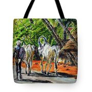 Going Home After Bathing Tote Bag