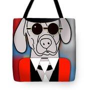 Going Somewhere Weimaraner Tote Bag