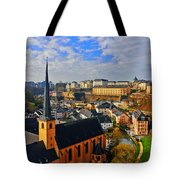 Going To Old Town Tote Bag