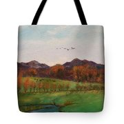 Going To The Cabin Tote Bag