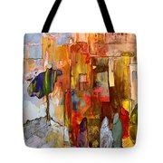 Going To The Medina In Morocco Tote Bag