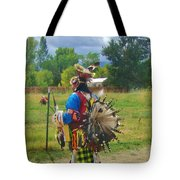 Going To The Pow Wow Tote Bag
