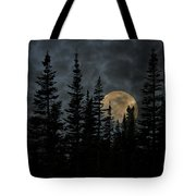 Going To The Sun Moonrise Tote Bag
