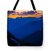Going-to-the-sun Sunset Tote Bag
