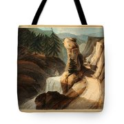 Going Up Mount Splugen Tote Bag