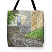Going Up The Lane In Beynac Digital Print Tote Bag