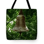 Gold Bell Tote Bag