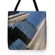 Gold Black And Blue Geometry - Royal Bank Plaza Tote Bag