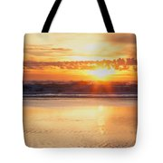 Gold Bluff Sunset Tote Bag