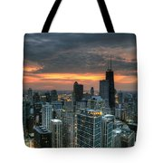 Gold Coast Sunset Tote Bag