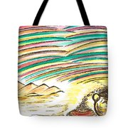 Gold Coins At The End Of  Rainbows Tote Bag