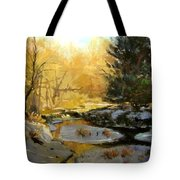 Gold Creek Glow Tote Bag
