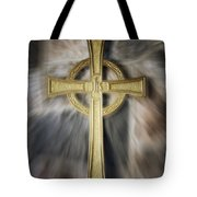 Gold Cross Tote Bag