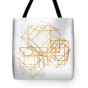 Gold Cubed II Tote Bag