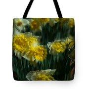 Gold Daffodil Tote Bag