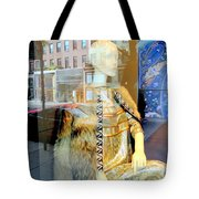 Gold Glamour Tote Bag