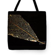 Gold Leaf Tote Bag