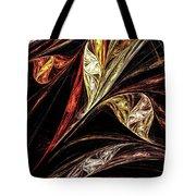 Gold Leaf Tote Bag by Elizabeth McTaggart