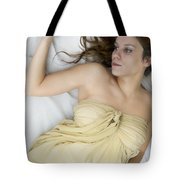 Gold Tote Bag by Margie Hurwich