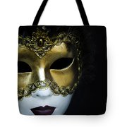 Gold Mask Tote Bag