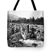 Gold Mining Claim C. 1890 Tote Bag