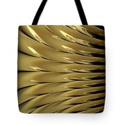 Gold Ridges Tote Bag