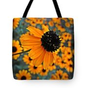 Gold Rudbeckia Blooms Tote Bag