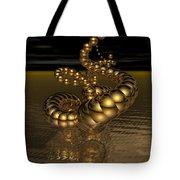 Gold Serpentine  Tote Bag