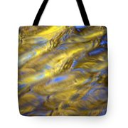 Gold Waters Tote Bag