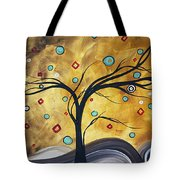 Golden Admiration By Madart Tote Bag
