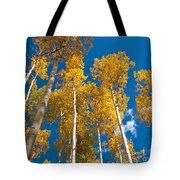 Golden Aspen Stand Tote Bag