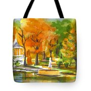 Golden Autumn Day Tote Bag
