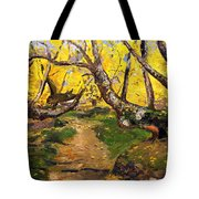 Golden Autumn - Drenova Tote Bag