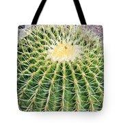 Golden Ball Cactus Tote Bag