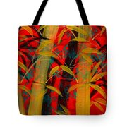 Golden Bamboo Tote Bag