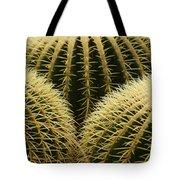 golden barrel cactus Mexico Tote Bag