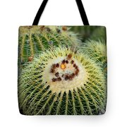 Golden Barrel Cactus Tote Bag