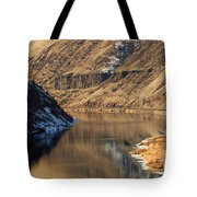 Golden Bend Tote Bag